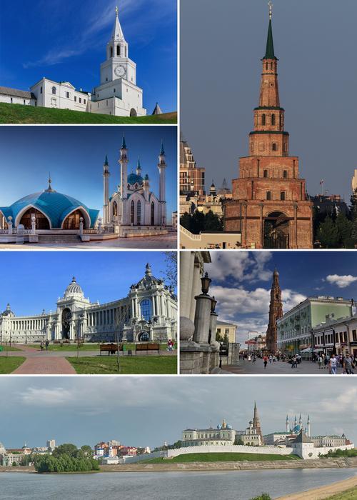 Казань, достопримечательности